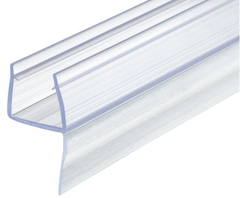 glass door seal, For shower cubicles, glass-wall