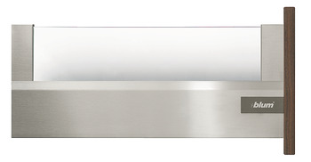 Glass insert element, Blum Tandembox intivo, nominal length/height extension panel