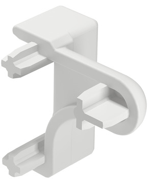 Handle profile guide, plastic, handle profile guide