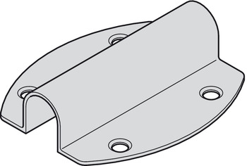 Housing for mounting as down light, Loox, for LED switches