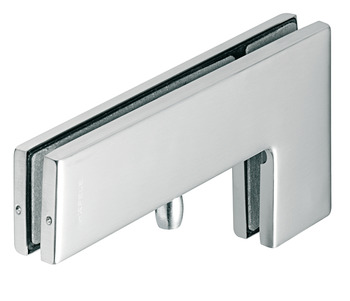 Overpanel/side panel patch fitting, Startec, for glass double action action doors