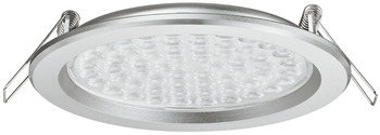 Recess mounted light, Round, LED 3002 – Loox, 4.4 W, aluminium, 24 V, cool/warm white