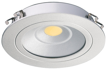 Recess mounted light, Round, LED 3010 – Loox, 3.25 W, aluminium, 24 V