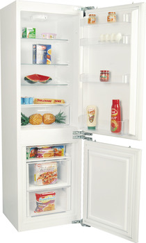 Refrigerator, built-in, bottom freezer, groff capacity: 235 liters