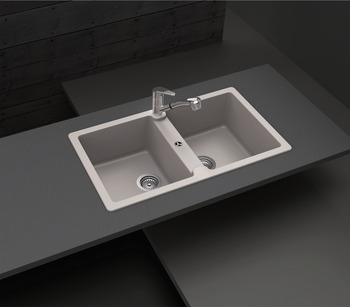 Sink, Häfele Granite Antonius HS-GD8650