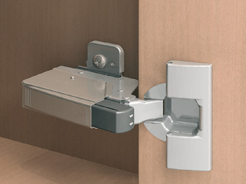 Soft closing mechanism for doors, Blumotion, for hinges for inset mounting