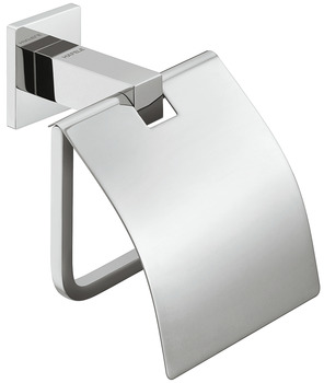 Toilet roll holder, With hood