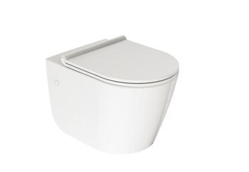 Toilet, Wall-hung toilet, Ceramic, SEINE