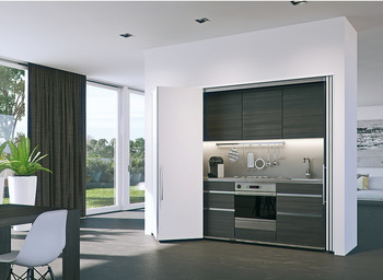 Wooden folding sliding doors, HAWA Folding Concepta 25, set