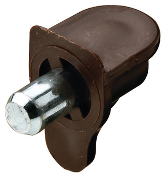 Bas đỡ kệ, For wood or glass, plastic, for plug fitting into drill hole Ø 5 mm